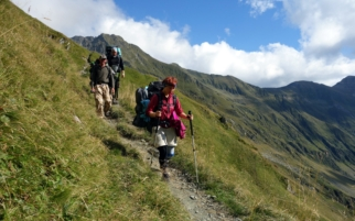 Trekking in the Romanian Carpathians