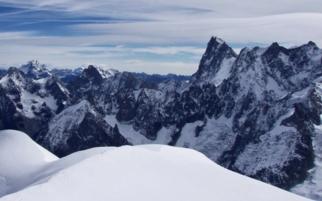 Trekking to Mont Blanc