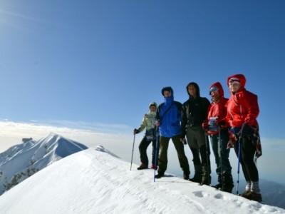 Climbing The Tahtali