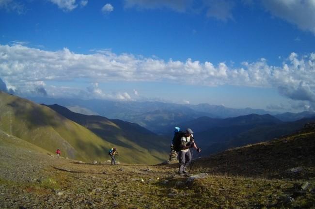 Trekking in Georgia
