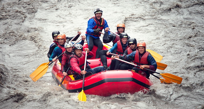 Rafting w Gruzji